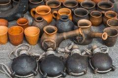 Vajilla de cerámica Fotografía de archivo libre de regalías