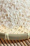 Vajilla del arroz y del bambú Fotos de archivo libres de regalías