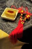 Vajilla del chino tradicional Fotografía de archivo libre de regalías