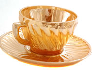 Vajilla para el té, taza, platillo Fotos de archivo