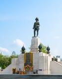 vajiravudh,曼谷国王雕象  库存图片