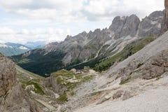 Vajolet - Catinaccio (意大利) 免版税库存图片