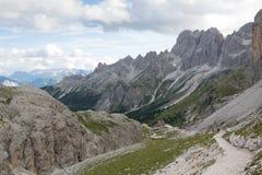 Vajolet - Catinaccio (Italia) Fotografia Stock