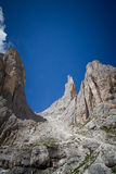 Vajolet towers, Dolomites Stock Images