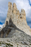 Vajolet Towers Royalty Free Stock Photos