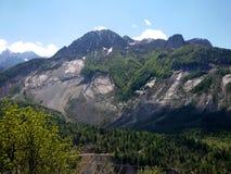Vajont Dam - Monte Toc Stock Photo
