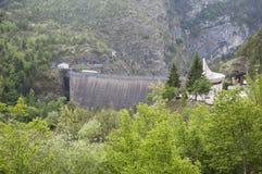 Vajont a represa Foto de Stock Royalty Free