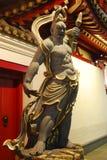 Vajra Guardian 1. Statue of Buddhist Guardian outside Singaporean Temple stock photography