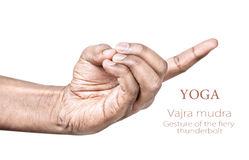 Vajra mudra Stock Photos