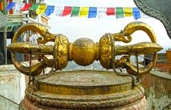 Vajra, Swayambunath, Nepal Stock Photos