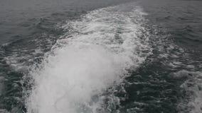 Vak av hastighetsfartyget arkivfilmer