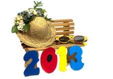 Vakantie 2013 Stock Fotografie