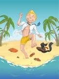 Vakantie Royalty-vrije Illustratie