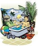 Vakantie Vector Illustratie
