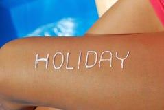 Vakantie Stock Afbeelding