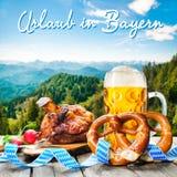 Vakantie in Beieren Royalty-vrije Stock Foto