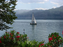 Vakantie bij het Meer Garda. Royalty-vrije Stock Foto