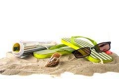 Vakantie bij het strand Stock Afbeelding