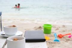 Vakantie bij strandtoevlucht Royalty-vrije Stock Afbeeldingen