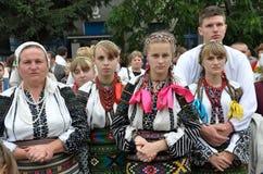 Vakantie borscht en embroidery_9 stock fotografie