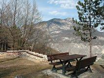 Vakantie in de Alpen Stock Fotografie