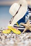 Vakantie, de geïsoleerde zomer, Stock Afbeelding