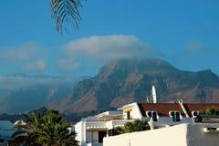 Vakantie dichtbij de oceaan op Tenerife, Kanarie, Spanje, Europa Royalty-vrije Stock Afbeelding