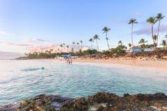 Vakantie in Dominicaanse republiek Stock Afbeeldingen