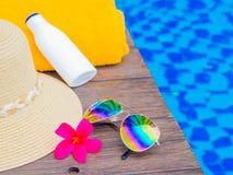 Vakantie en ontspanning, het concept van de de zomerreis stock fotografie
