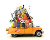Vakantie en reis Stock Afbeelding