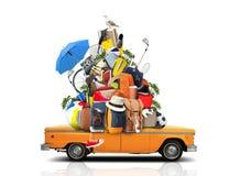 Vakantie en reis royalty-vrije stock afbeelding