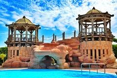 Vakantie in het Egyptische hotel Royalty-vrije Stock Afbeeldingen