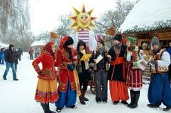 Vakantie Maslenitsa Stock Foto