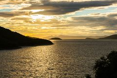 Vakantie in mooi Kroatië, Europa stock afbeelding