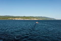 Vakantie in mooi Kroatië, Europa royalty-vrije stock foto