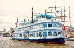 Vakantie, ontdekking, zwerflust in Hamburg, Duitsland royalty-vrije stock foto