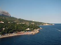 Vakantie op de Zwarte Zee Royalty-vrije Stock Afbeeldingen