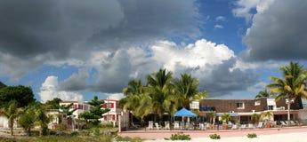 Vakantie op Eiland St.Maarten Stock Foto's