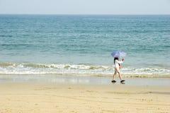 Vakantie op strand 2 Royalty-vrije Stock Fotografie