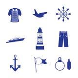 Vakantie op zee Stock Afbeeldingen
