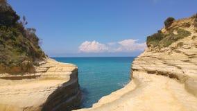 Vakantie op zee Stock Foto's