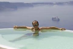 Vakantie in paradijs Royalty-vrije Stock Foto's