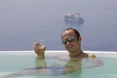 Vakantie in paradijs Stock Foto's