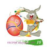 Vakantie Pasen vector illustratie