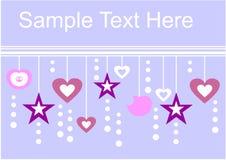 Vakantie textspace 01 Stock Fotografie