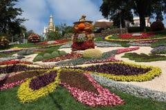 Vakantie van bloemen in Kiev, de Oekraïne Stock Afbeelding