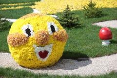 Vakantie van bloemen in Kiev, de Oekraïne Royalty-vrije Stock Foto's
