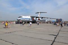 Vakantie van 100 jaar militaire Luchtmacht van Rusland Stock Afbeelding
