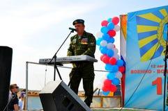 Vakantie van 100 jaar militaire Luchtmacht van Rusland Stock Foto's
