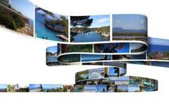 Vakantiefoto's Royalty-vrije Stock Afbeeldingen
